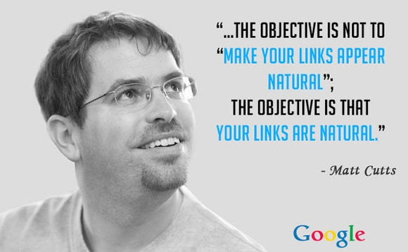 Matt Cutts frase sobre los enlaces