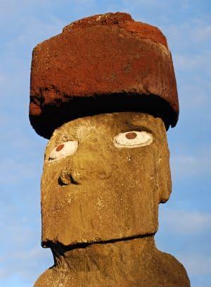 pukao de los moai