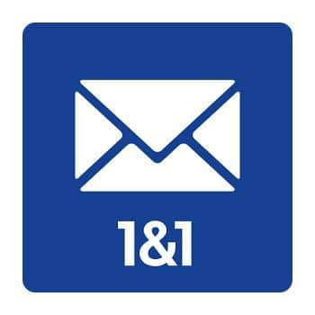 1&1 Webmail. Gestor de correo electrónico online