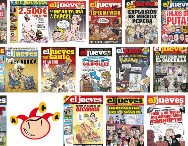 El Jueves portadas 2017
