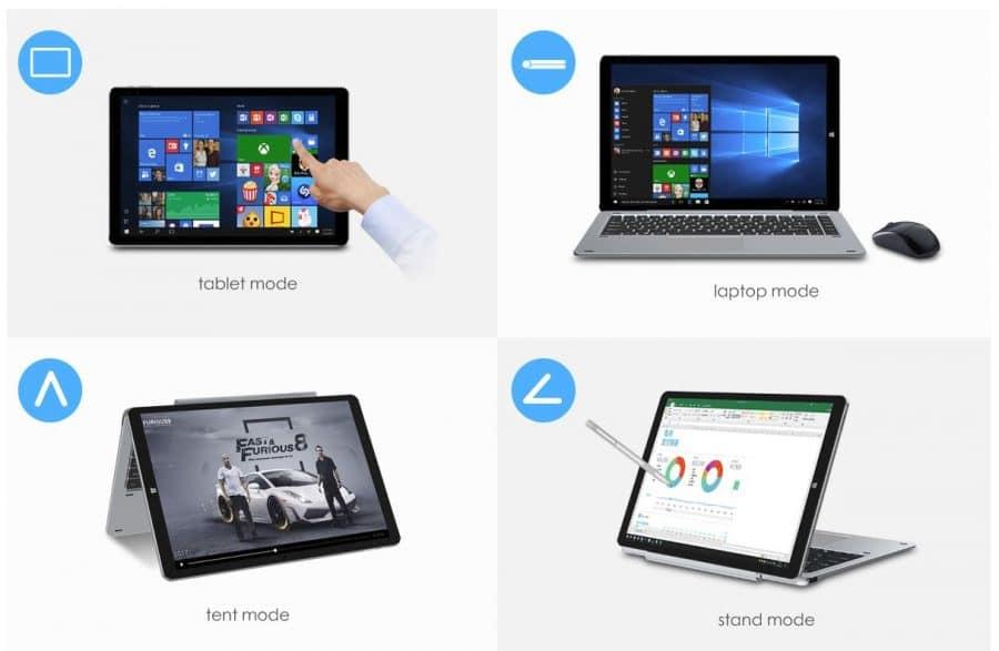 Chuwei HI13 Tablet y PC lifgero y barato